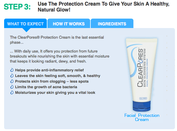How Clearpores Work Step 3